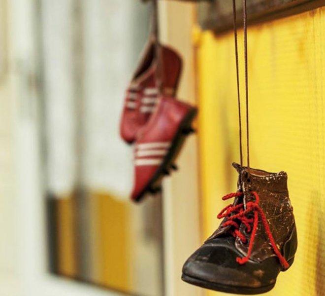 Század eleji model cipő